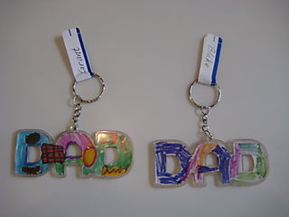Daddy Cakes Fathers Day Gift Keys