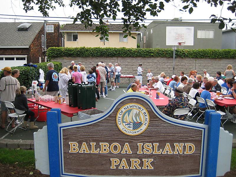 Balboa Island Park Pancake Breakfast