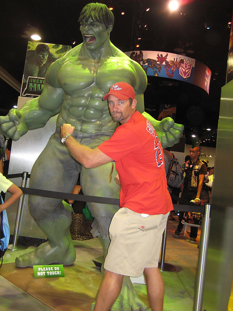 Daddy Cakes and Hulk