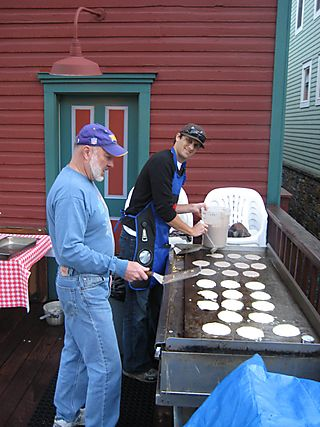 Daddy Cakes - Telluride Blues and Brews Pancake Breakfast
