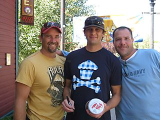 Daddy Cakes Telluride Blues and Brews Pancake Autograph