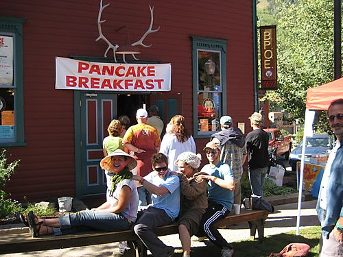Daddy Cakes Pancake Breakfast Telluride Blues and Brews