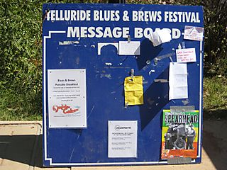 Telluride Blues and Brews Message Board