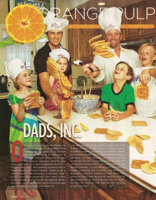 Daddy Cakes in COAST Magazine