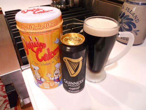 Daddy Cakes-Guinness Beer Pancakes