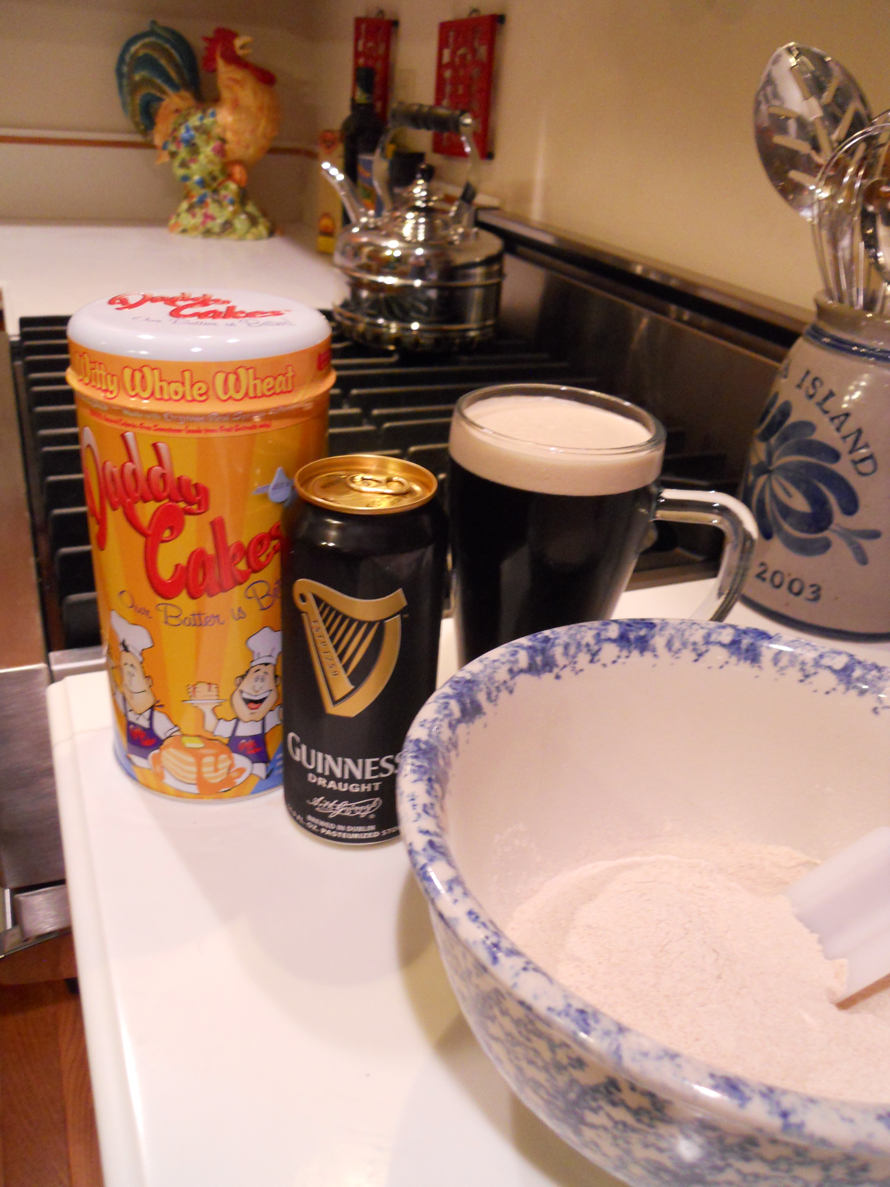 Daddy Cakes Guinness Beer Pancakes