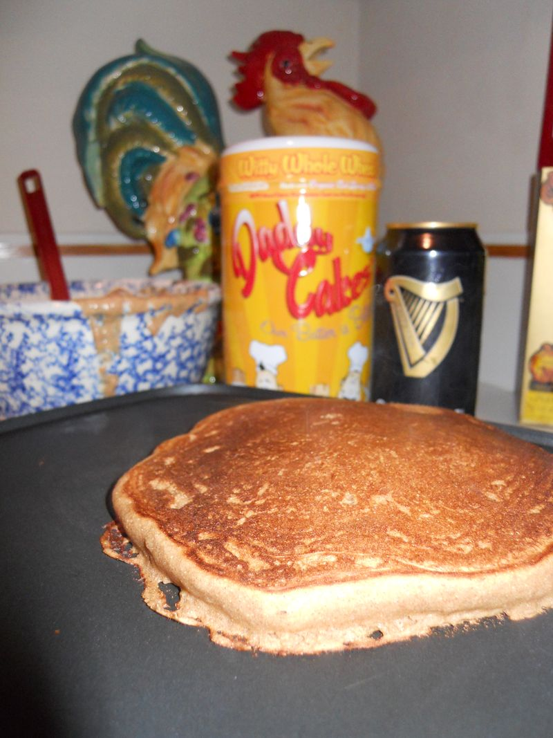 Daddy Cakes - Guinness Beer Pancakes 1