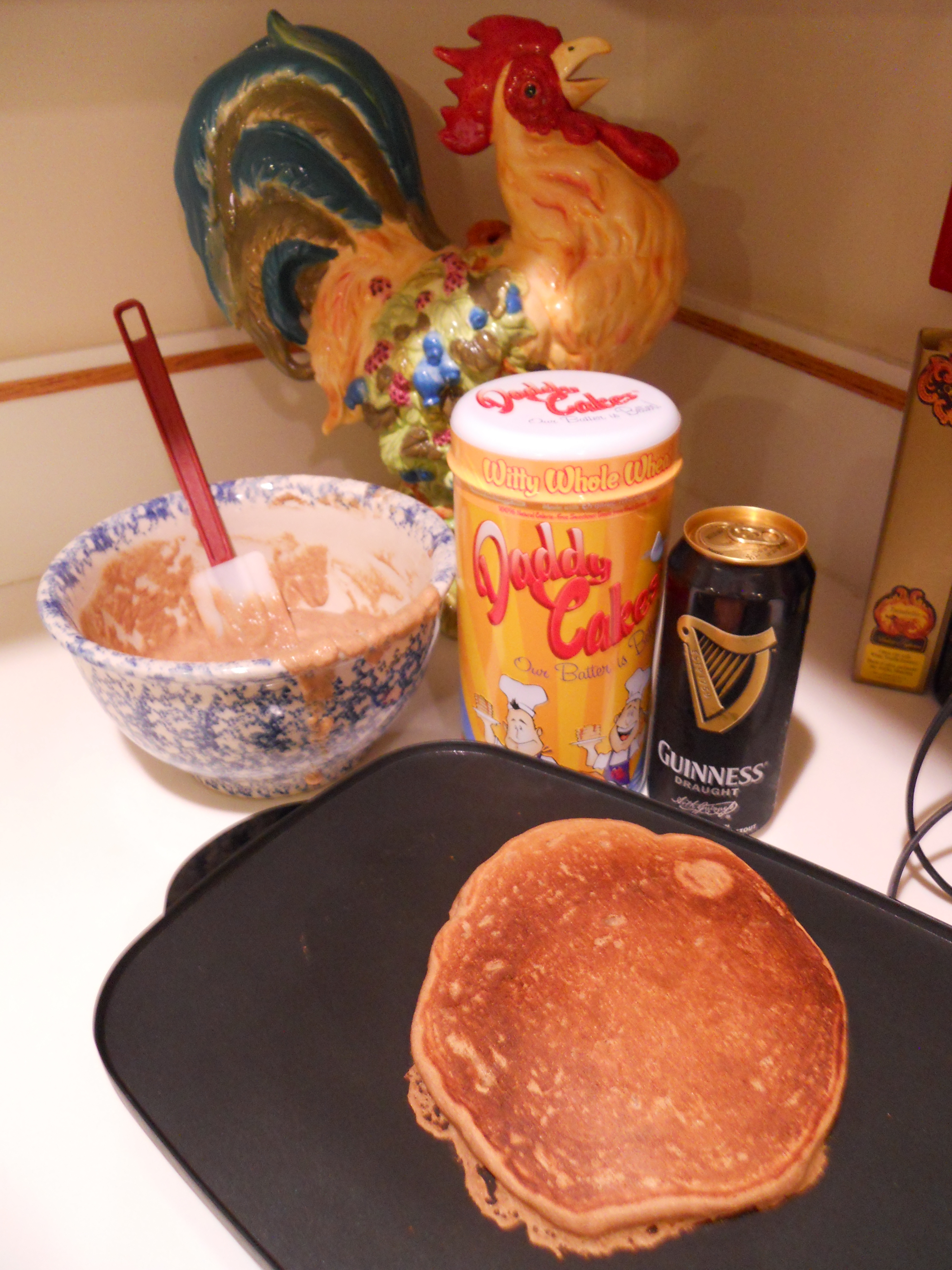Daddy Cakes Guinness Beer Pancake