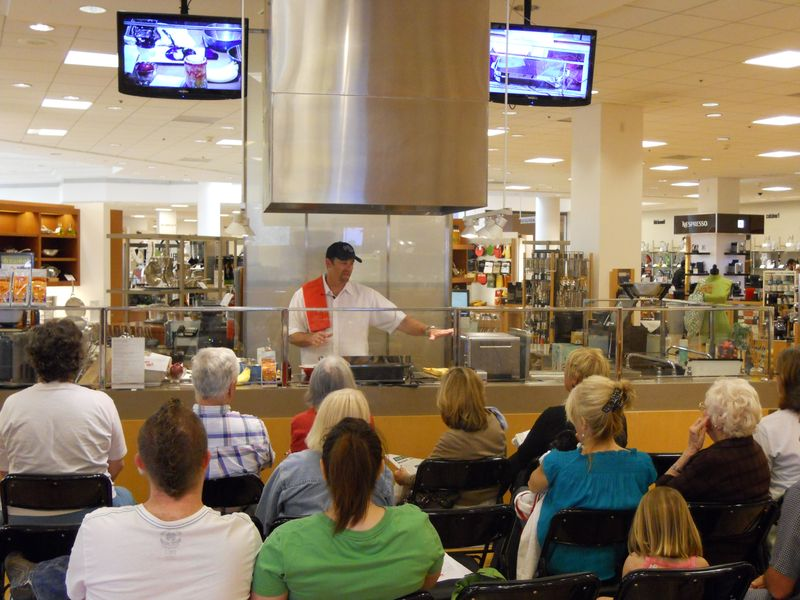Daddy Cakes Bloomingdales Cooking Demonstration