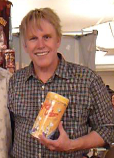 Gary Busey with Daddy Cakes