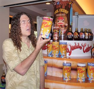 Weird Al Yankovic with Daddy Cakes