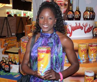 Rutina Wesley from TRUE BLOOD with Daddy Cakes