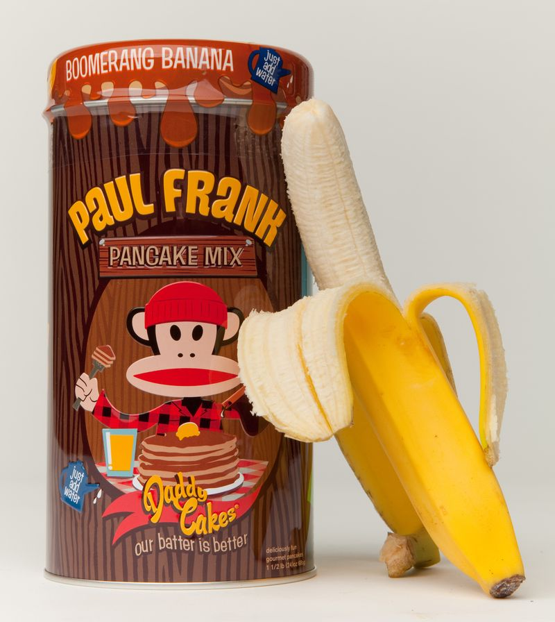 Paul Frank Industries Julius Pancake Mix-Banana Pancakes cropped